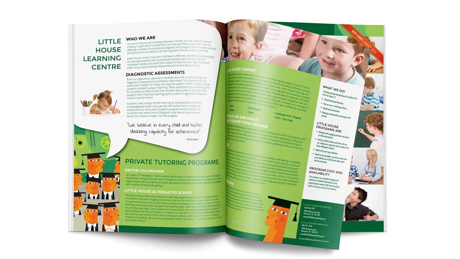 little house tutoring magazine